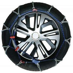 Snow Chains Car 225 50 17 R17 Ultrathin Mens 7 Mm Homologated
