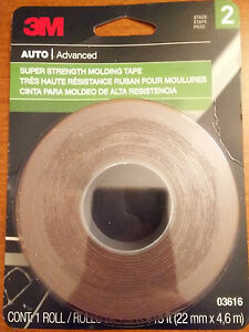 3m Auto Advanced Double Side Super Strength Molding Tape 7 8 In X 15 Ft 03616