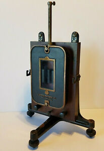 Antique Leeds Northrup Co Portable Galvanometer With Stand