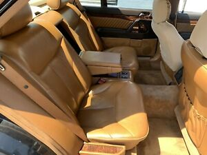 Mercedes W140 Reclining Rear Seat Package Palomino 500sel 600sel S600 S500