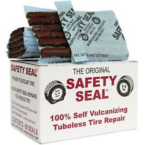 60pc Safety Seal Tire Plugs Tubeless Tire Repair 60 Plugs 4 Plugs