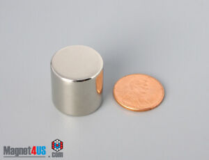 N52 19mm X 19mm 3 4 X 3 4 Strong Rare Earth Neodymium Magnets Cylinder