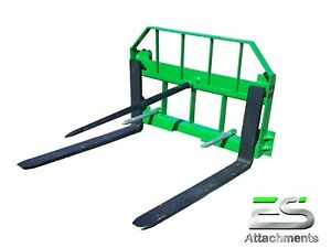 Es John Deere Combo 49 Spear And 42 Pallet Forks Jd Quick Attach Local Pick up