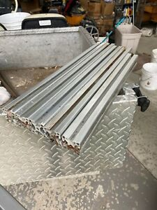 Lot Of 5 80 20 Smooth T slotted Aluminum Extrusion Pipe 40 4040 Lite 40mm