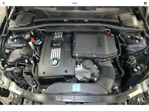 07 Bmw 335i Complete N54 Engine Transmission Swap Dropout W Ecm And Harness E92