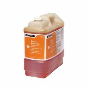 Ecolab 6114559 Oasis 137 Orange Force Multi surface Cleaner degreaser 2 5gal New