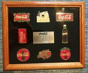 Coca- Cola Limited Edition Brass Emblems Collection