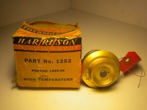 Pontiac Harrison Thermostat 1933 46 Brass Nos Oem
