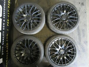 Used 18 Drag Dr 69 Wheels With Tires 18x7 5 All Around