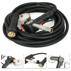 Dc24v 33ft 10m Toothed Mig Spool Gun Wire Feed Aluminum Welder Torch