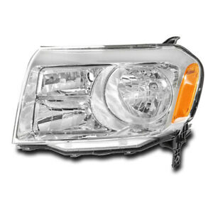 For 2012 2013 2014 2015 Honda Pilot Halogen Headlight Headlamp Driver Lh Side