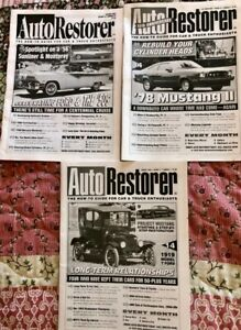 3 Eras Of Ford History Model T 56 Convertible Mustang 3 Auto Restorer Magazines