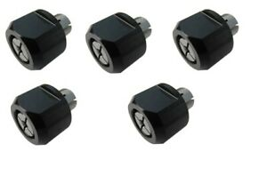 5pc Collet Set 1 8 1 4 4mm 6mm 8mm For Cnc Shapeoko Dwp611 Dcw600 Porter Cable
