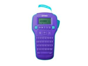 Dymo Labelmanager 160 Label Maker Purple Brand New
