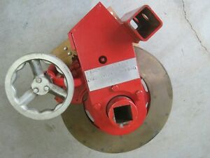 Tru stop 16 Turret Cable Reel Tensioning Trailer Brake Bronze Air Cooled Disc