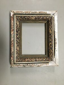 Vintage Antique Victorian Shadow Box Picture Frame Fits 8 By 6 1 8 Painting