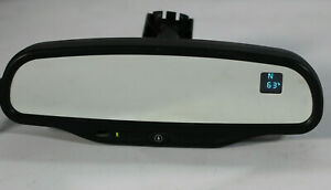 Vue Torrent Equinox Rear View Mirror Auto Dim Square Compass Temperature Display