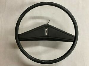 Oem 1972 Oldsmobile Cutlass Supreme Steering Wheel With Horn Button Black