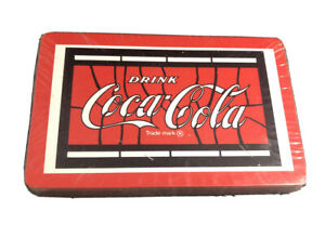 Coca-Cola Playing Cards - 1970's Sealed Deck Red Edge No Box K34
