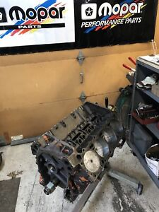 Rebuilt Big Block Mopar 383 Hp Short Block Date 6 16 70 Chrysler Dodge Plymouth