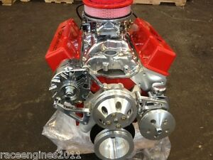 383 Stroker Crate Engine Motor 440hp Roller Turn Key Pro Street Chevy Sbc Look