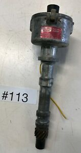 Mallory Dual Point Distributor For Parts Or Rebuild Chevrolet V8 2548201 113