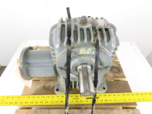 Cone Drive Mhu35 2 60 1 Ratio 29 Rpm Output Right Angle Gear Reducer