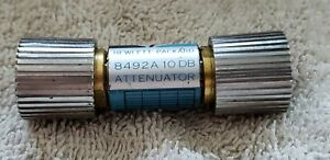 Hp 8492a 10 Coaxial Fixed Attenuator 10db