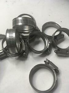 Qty 10 Spring Hose Clamps Smartseal 37215 Size 20