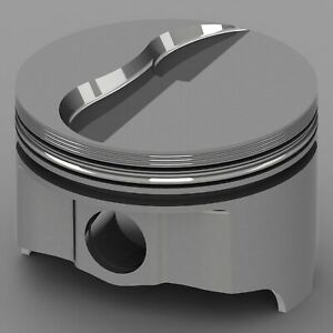 Icon Forged Piston Set Fits Ford 427fe Rod 6 490 Flat Top 7 5cc 2v Size 017
