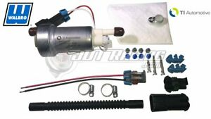 Genuine Walbro Ti 535lph F90000295 Hellcat Fuel Pump 400 1168 Install Kit E85