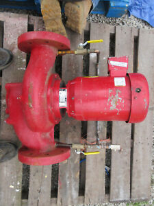 Bell Gossett 4 X 7 Circulating Pump 3 Hp 3 ph