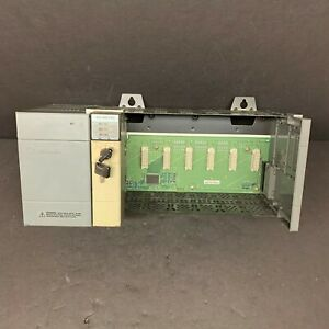Allen Bradley 1746 p2 1746 a7 1747 l542 Slc500 7 Slot Rack Power Supply 5 04 Cpu