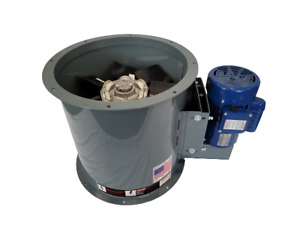 34 Dia Tube Axial Fan 5 Hp 3 Phase 17 000 Cfm Made In Usa