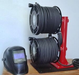 Stacked Welding Lead Cable Reel 600 Amp