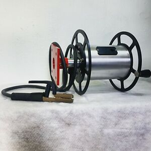 Welding Lead Cable Reel Reel rite Heavy duty Hand Crank 3 Year Warranty