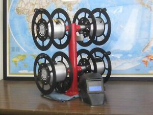 welding Lead Cable Reel Quad Reel 2 600 Amp oxy And 35 Amp Power