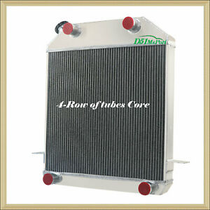 4row Radiator For Ford Mercury Flathead Deluxe Pickup V8 Engine 1939 1941 40 D51