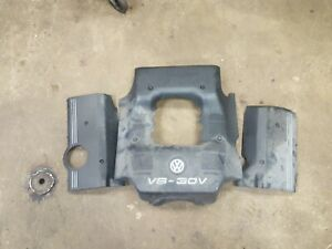 Used 98 01 Vw Audi A6 C5 A4 B5 Engine Covers 2 8l V6 Complete Set