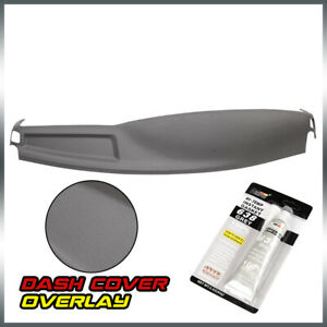 For 02 05 Dodge Ram 1500 Molded Abs Front Section Dashboard Cover Cap Overlay