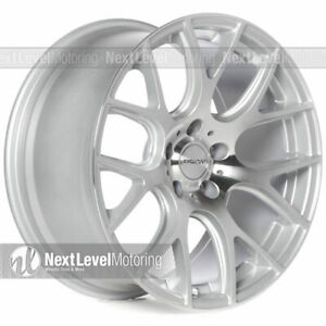 Circuit Cp31 18 9 5 114 3 24 Machined Silver Wheels Fits Mustang Sn95 Sn 95 Svt