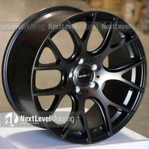 Circuit Cp31 189 5 114 3 38 Tinted Black Wheels Fits Nissan Altima Maxima Juke
