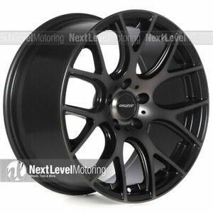 Circuit Cp31 18 9 5 114 3 38 Tinted Black Wheels Fits Mazda 3 6 Mazdaspeed Cx 3