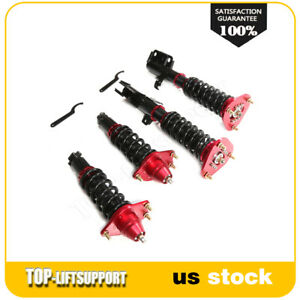 For 2005 2008 Scion Tc Coilover Shocks Struts Springs Kits Adjustable Height