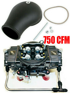 Quick Fuel Q 750 ban Annular Mech Blow Thru Black Diamond Drag Race With Bonnet