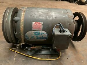 Front Load Washer Motor Milnor 3ph P n 39h015acn used