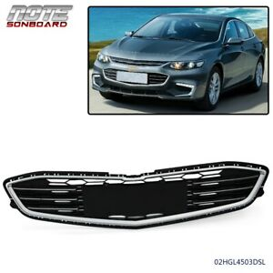 Abs Chrome Front Bumper Lower Grille For 2016 2017 2018 Chevrolet Malibu Hybrid