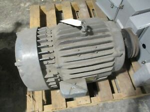 Morse Borg Warner Dc Motor 167202 10hp 1750rpm 240a 150f Volts 34 Amps Tefc Used