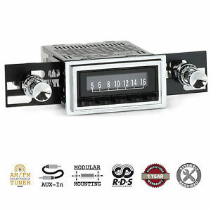 Retrosound 1961 62 Chevrolet Chevy Car Laguna Radio Am Fm Aux Retroradio Stereo