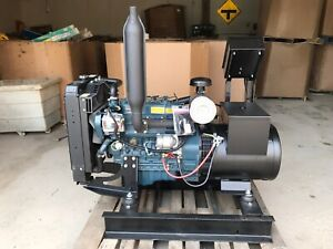New 15 Kw Kubota Diesel Generator Tier 4 120 208 Volt Re connectable Marathon